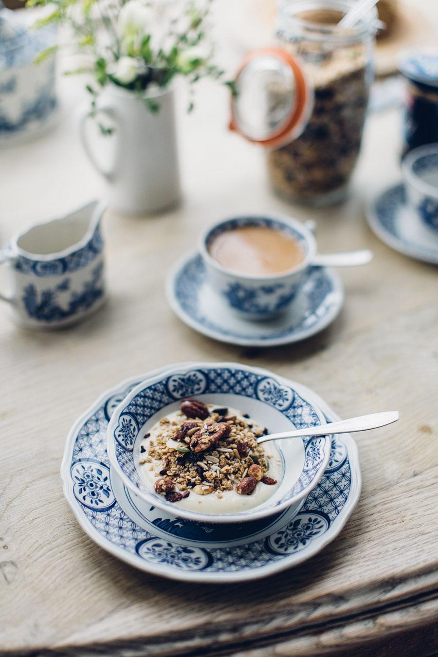 Antique style Breakfast