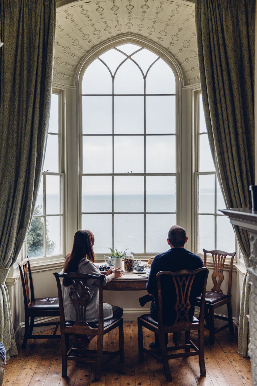 Breakfast with a sea view - Luttrell's Tower