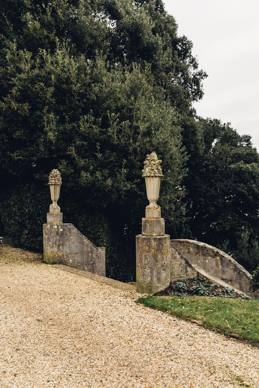 Luttrell's Tower garden details