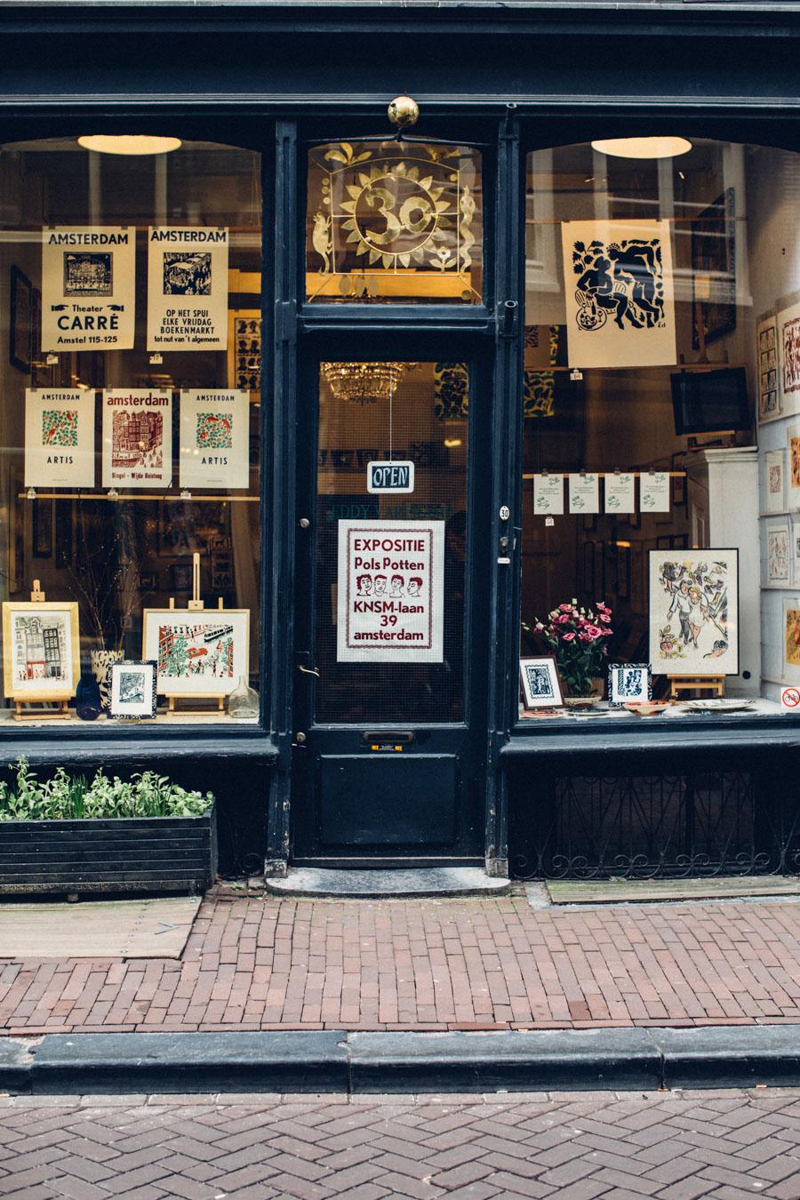 Amsterdam Artist Print shop