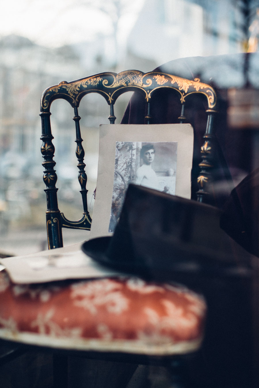 Antique shopping in Amsterdam