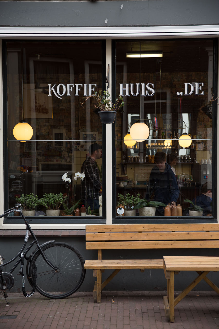 Amsterdam coffee house