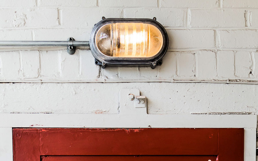 Oval Bulkhead Bathroom Outdoor Light