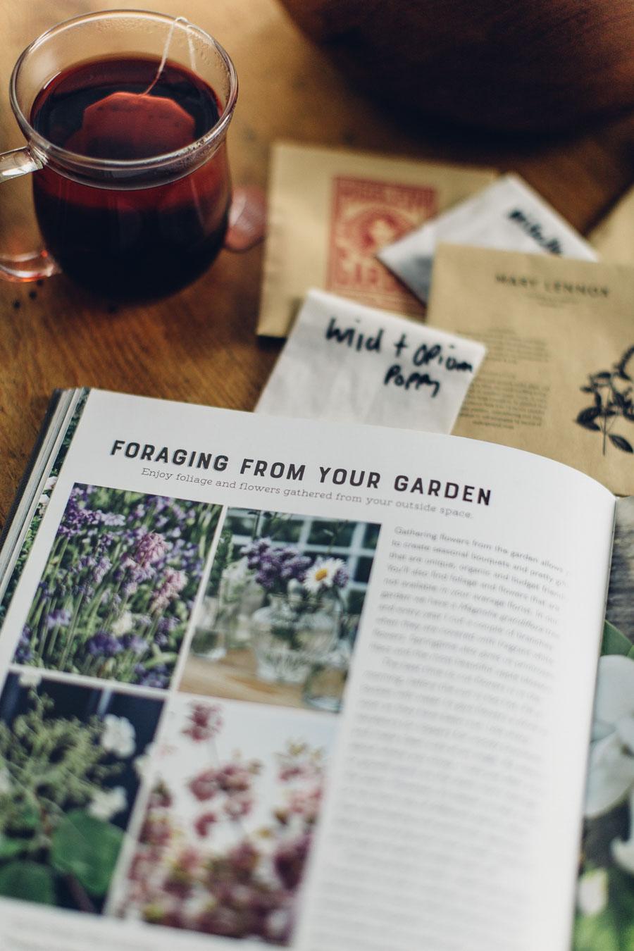 Planning a flower filled garden