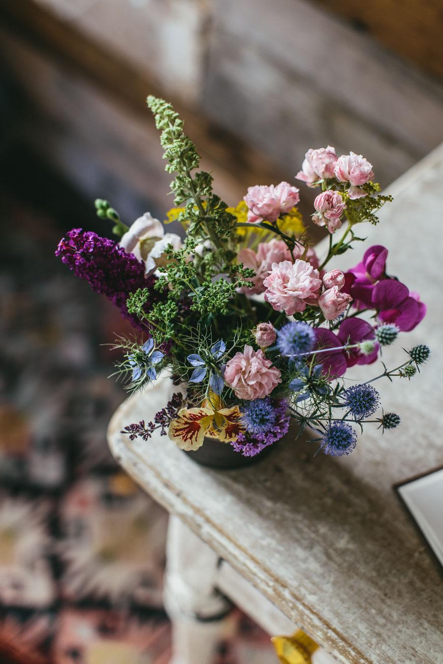 Garden bounty - Home grown flowers