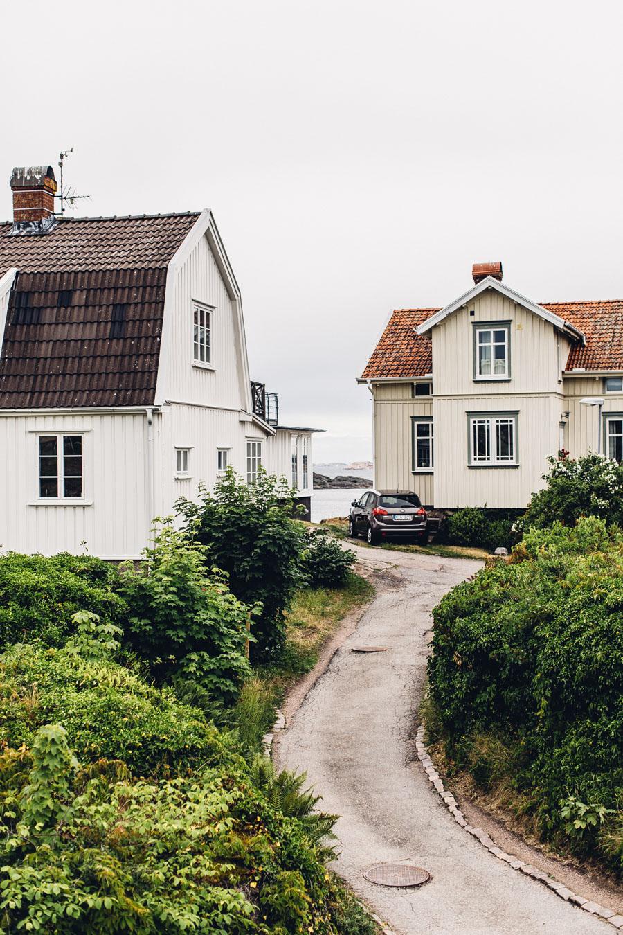 Fiskebäckskil fishing town, West Sweden