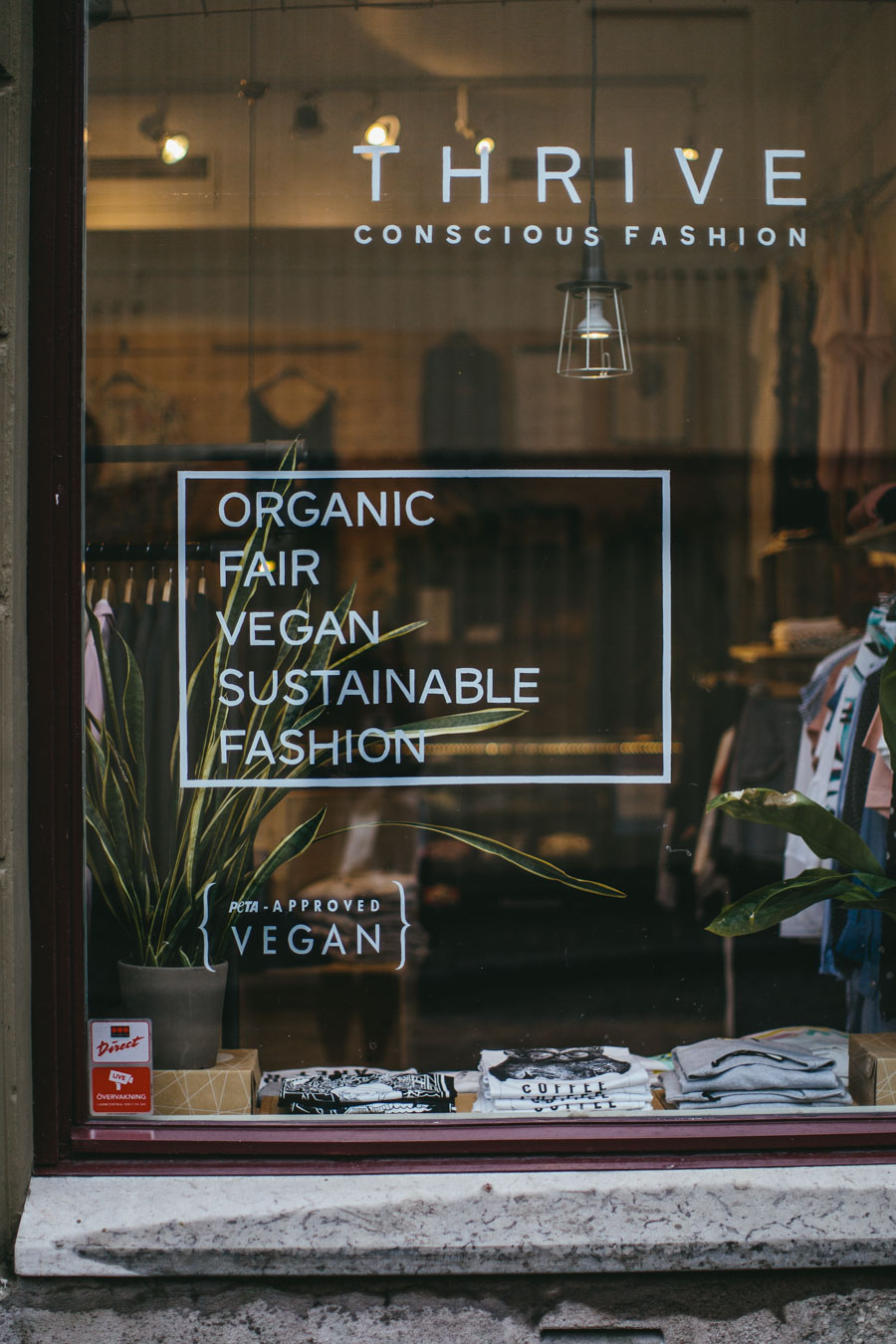 Thrive Ethical Clothing Store Gothenburg