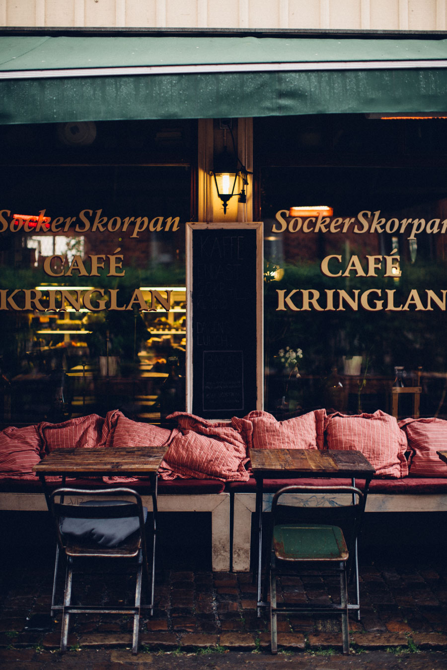 Cafe in Haga, Gothenburg