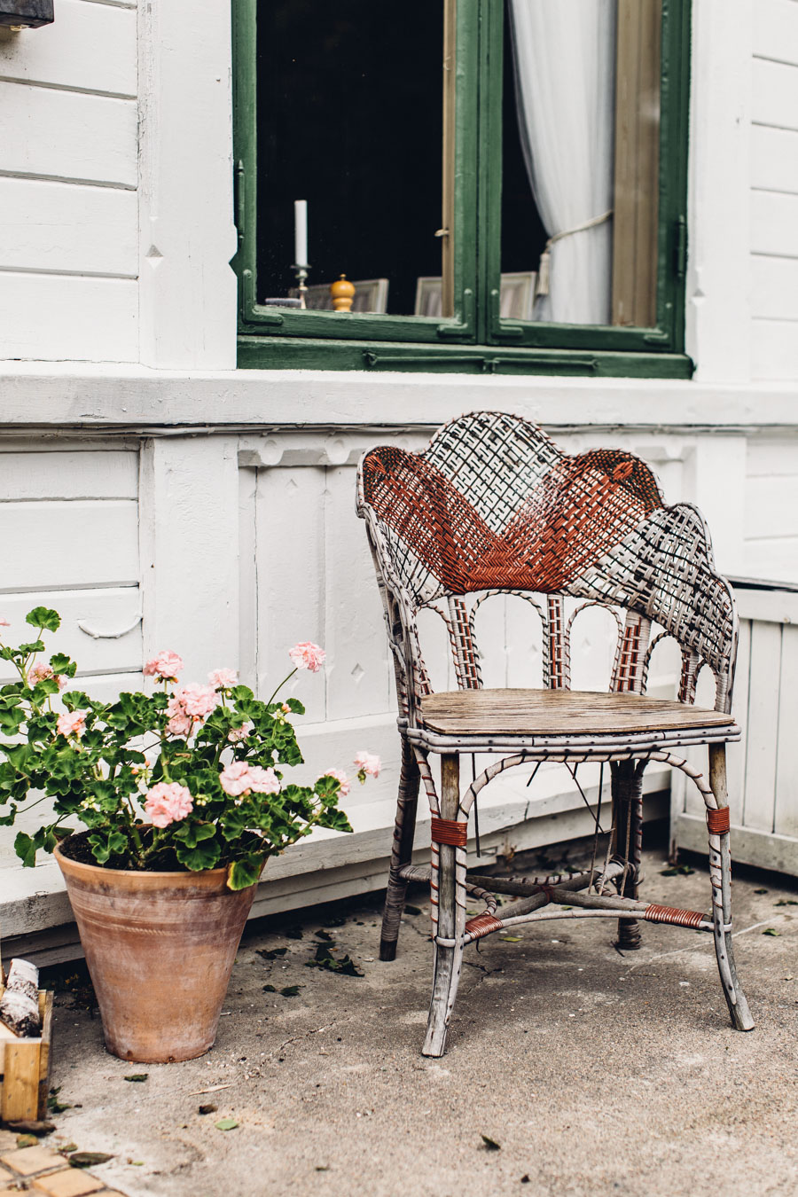 Vintage outdoor furniture