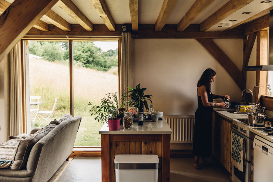 Wild Meadow Eco House Wales