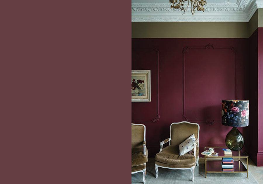 Farrow and Ball Paint Preference Red