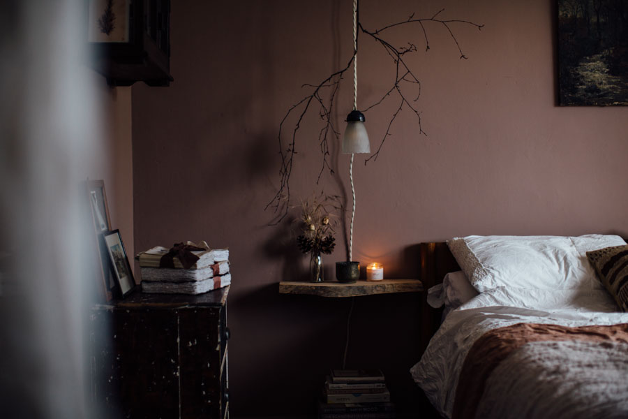Perfect paint for a moody bedroom