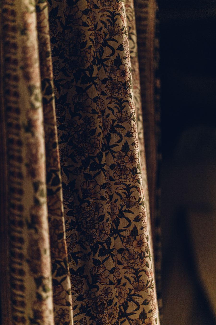 Vintage Sari curtain