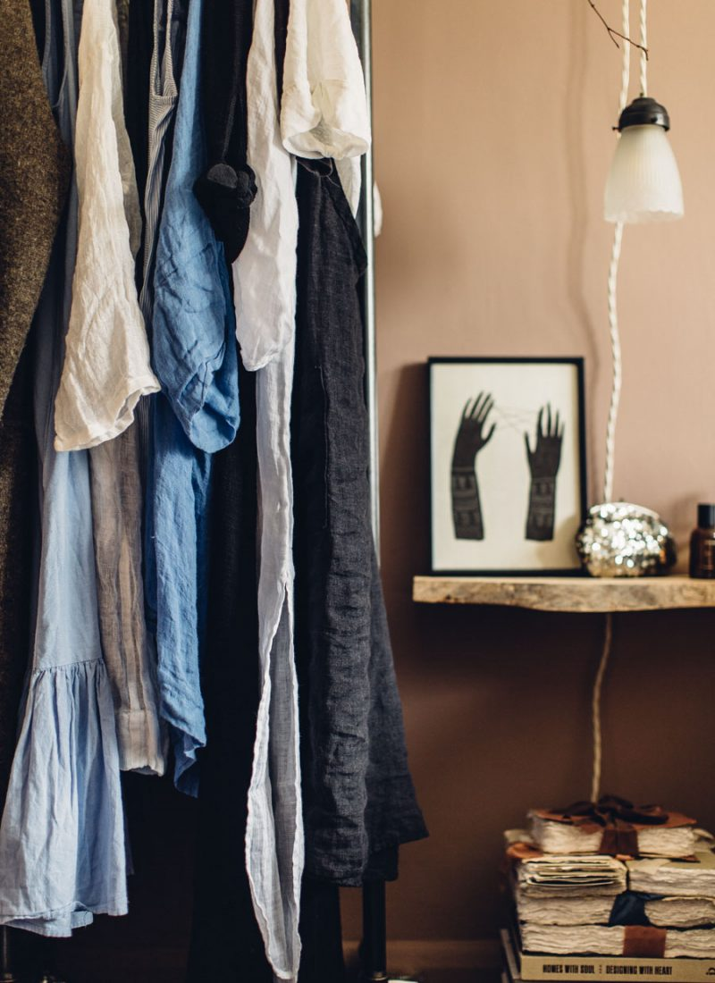Small space clothing solutions